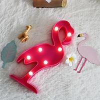 Đèn ngủ led chim hồng hạc