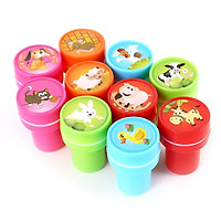 10 computers assorted farm animal stamps children's party activities supplies gifts toys boys and girls pinata padding