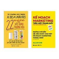 Combo Kế Hoạch Marketing Trên Một - Trang - Giấy + 22 Quy Luật Bất Biến Trong Xây Dựng Thương Hiệu