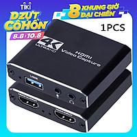 Thiết bị thu video 4K 1080P HDMI ghi hình video trực tuyến