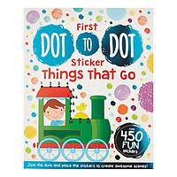 First Dot to Dot Sticker Things That Go