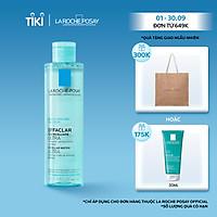 Nước Tẩy Trang Làm Sạch Sâu & Kiểm Soát Bã Nhờn Cho Da Dầu Nhạy Cảm La Roche-Posay Micellar Water Ultra Oily Skin 200ml