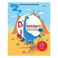 Cuốn Sách Kiến Thức Bách Khoa Bổ ích Cho Bé Về Thế Giới khủng Long: Lift-The-Flap-Lật Mở Khám Phá - Dinosaurs