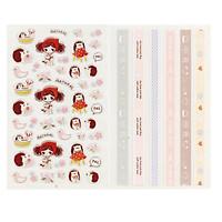 Bộ 2 tấm sticker trang trí nổi Pura Girl