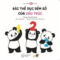 Bài thể dục đếm số của Gấu Trúc - Bé làm quen với số đếm qua tranh truyện Ehon Nhật Bản
