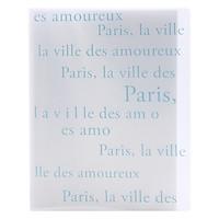 Bìa 20 Túi Trong Mờ Double A - Thiết Kế Kiểu Paris