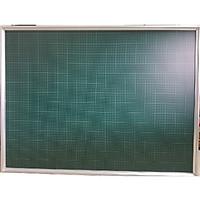 Bảng từ xanh viết phấn kẻ ô li Tiểu học kích thước : 1200x1600mm