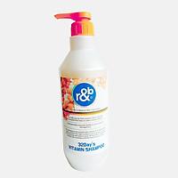 Dầu gội vitamin giảm rụng tóc giảm mùi hôi phục hồi tóc kích thích mọc tóc R&B 32Day vitamin Shampoo, Hàn Quốc 1500ml