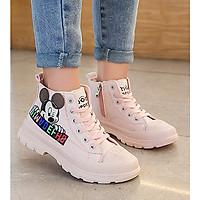 Giày bốt cao cổ cho bé gái BTL30