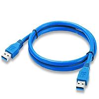 Cáp USB 3.0 male to male cao cấp dài 3m (2 đầu dương )  - Hàng Nhập Khẩu