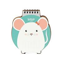 Lịch Để Bàn 2020 Hình Chú Chuột Ver.2  (13x16cm)