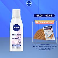 Nước Cân Bằng NIVEA Extra White Dưỡng Trắng Da & Se Khít Lỗ Chân Lông (200ml) - 86720