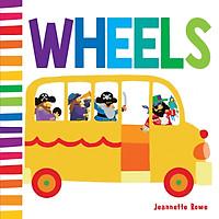 Sách Jr Baby Board Book Wheels