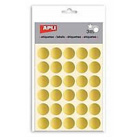 APLI_Sticker Tròn Vàng Ø20_11808