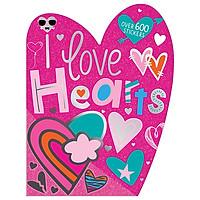I Love Hearts Sticker Activity Book