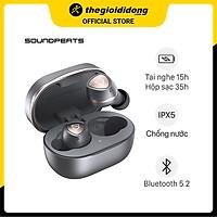 Tai nghe Bluetooth True Wireless Soundpeats Sonic Xám - Hàng Chính Hãng