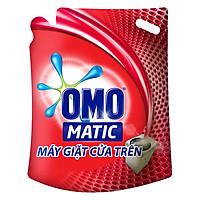Nước Giặt Omo Matic Cho Máy Cửa Trên Túi (2.7Kg)...