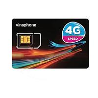 SIM 4G Vinaphone D500 5GB/Tháng Trọn Gói 1 Năm Không Nạp Tiền - Hàng Chính Hãng