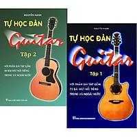 Combo Tự Học Đàn Guitar (Bộ 2 Tập)  (Với Phần Bài Tập Gồm 150 Bài Hát Nổi Tiếng Trong Và Ngoài Nước)