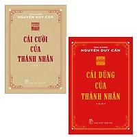 Combo Cái Cười Của Thánh Nhân và Cái Dũng Của Thánh Nhân ( Tái bản)- sổ tay
