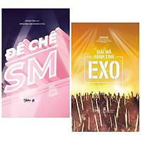 Combo Sách Hot - Số Lượng Có Hạn: Đế Chế SM + Gỉai Mã Hành Tinh EXO (Tặng Kèm Photobook In Màu, Bookmark Happy Life)