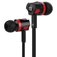 Tai nghe JM26 giảm ồn cổng kết nối 3.5mm, dây dẹt chống thắt nút chịu lực cực tốt