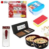 Combo 6 món đồ dùng nhà bếp tiện dụng - made in Japan