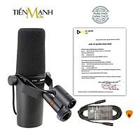 Mic Shure SM7B Micro Thu Âm Phòng Thu Studio Microphone Biểu Diễn Chuyên Nghiệp Hàng Chính Hãng USA - Kèm Móng Gẩy DreamMaker