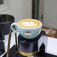 Ly cà phê bằng sứ cao cấp Artisan 300ml Latte Mug & Saucer Jade Green - Chính hãng Brewista