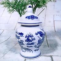 Đồ thờ cúng bát tràng  ( choé gạo muối nước ) dành cho cáo Ban thờ thần tài , thờ giá tiên kết hợp đồ thờ đồng)