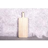Thớt gỗ bày bàn ăn không vân