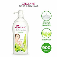 Sữa tắm trắng da Gervenne Green Lily 450gr