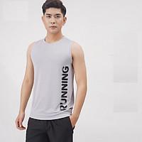 Áo Sát Nách Nam Running Tập Gym,Chơi Thể Thao Thun Co Giãn 4C,Thấm Hút Mồ Hôi