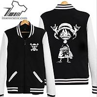 3 mẫu áo khoác One Piece cực đẹp tặng kèm áo thun bịt mặt anime