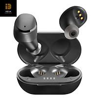Tai nghe Bluetooth V5.0 True Wireless Earbuds điều khiển cảm ứng hỗ trợ nghe đơn hoặc đôi 2 bên tai với micro HD chống ồn dành cho smartphones