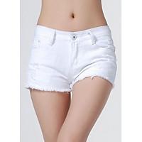 Quần short jean nữ vô cùng cá tính 138