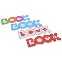 Bookmark Tiki - Love Book (Bộ 4 Cái)
