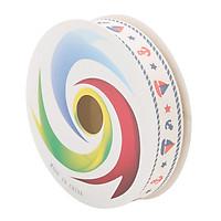 Cuộn Ruy Băng Vải Trang Trí (Loại 1.6Cm) - Hình Thuyền
