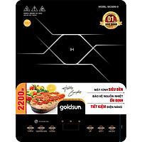 Bếp Điện Từ Đơn Goldsun GIC3200-D – Hàng Chính Hãng