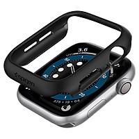 Ốp lưng dành cho Apple Watch Series 6 / Apple Watch SE (Size 40/44mm) Spigen Thin Fit - Hàng Chính Hãng