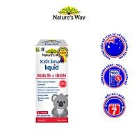 Siro Uống Nature's Way Kids Smart Liquid Multi + Iron Hỗ Trợ Nâng Cao Sức Đề Kháng Cho Trẻ 200ml