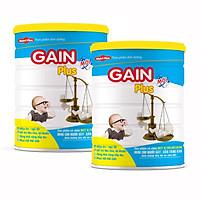 Combo Sữa bột GAIN PLUS dùng cho người gầy tăng cân NUTRI PLUS - 900G