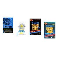 Combo 4 cuốn sách: Kích Hoạt Tài Năng Bán Hàng  + Giải Pháp Bán Hàng 4.0 + Vì Sao Họ Thành Công 1? + Vì Sao Họ Thành Công 2 ?