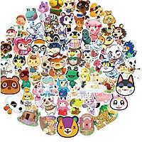 Set 60 Sticker động vật  ảnh ép lụa (giao mẫu ngẫu nhiên)