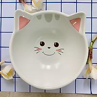 Chén Ăn Cơm Bằng Sứ Hình Mèo