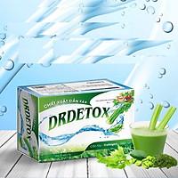 DETOX Bột Cần tây- Thải độc cơ thể - diệp lục-cafe xanh DRDETOX(Hộp 30 gói)