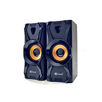 Loa máy tính 2.0 Kisonli U-9003 Âm thanh cực hay (màu ngẫu nhiên) HÀNG NHẬP KHẨU