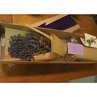 Hộp hoa khô lavender oải hương tự nhiên nhập khẩu Pháp- Hoa khô hương thơm tự nhiên giúp thư giãn- Quà tặng độc đáo cho các dịp lễ 20/10,8/3, valentine