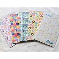 Lốc 2 Quyển Tập Sinh Viên 200 trang Sweets - mẫu ngẫu nhiên