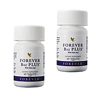 Combo 2 hũ Forever B12 Plus (#188) – kết hợp vitamin B12 và Acid Folic-60 viên/hũ